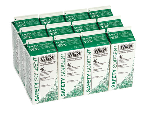 Anti-Slip Safety Sorbent case of 12, 2 qt cartons