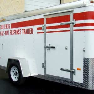 Spill response & cleanup trailers