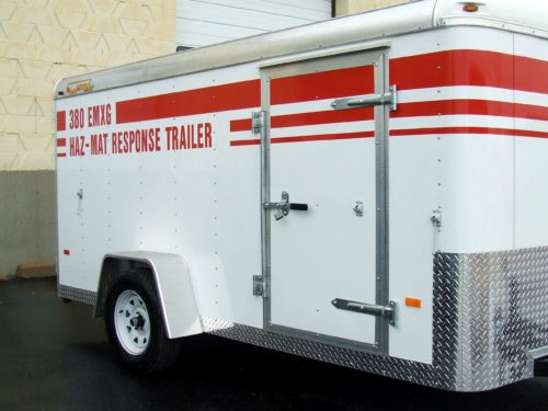 12 foot spill response trailer